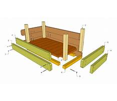 Build wood box planter Plan