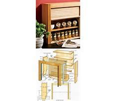 Build wood spice rack Plan