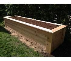 Build wooden planter box.aspx Plan
