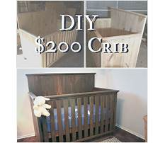 Build your own crib hardware Plan