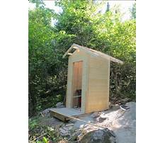 Build your own outhouse plans Plan
