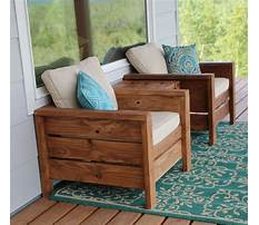Build your own wood furniture Plan