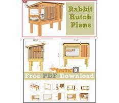 Building a bunny hutch plans Plan