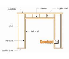 Building a door frame.aspx Plan