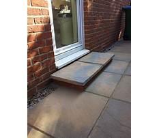 Building a door step Plan