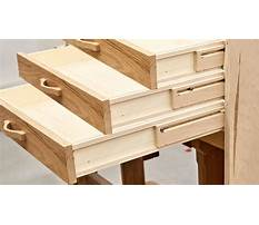 Building a drawer with slides Plan
