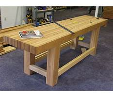 Building a workbench Plan