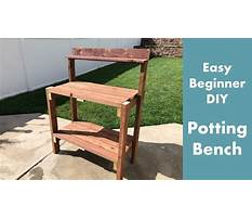 Building a workbench youtube Plan