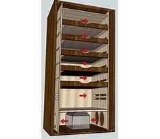 Building humidor cabinet Plan