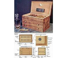 Building humidor shelves Plan