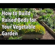 Building plans for raised garden beds.aspx Plan