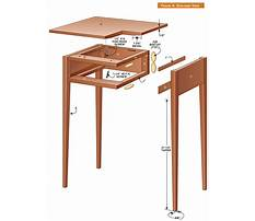 Building shaker end table Plan