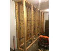 Building storage cabinets made from wood Plan