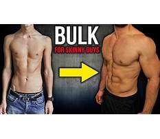 Bulking diet for skinny guys Plan