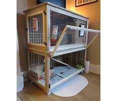 Bunny cages indoor diy Plan