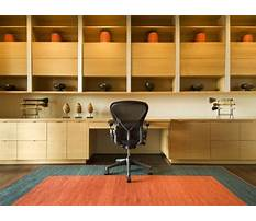Cabinet design for office Plan