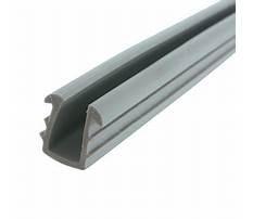 Cabinet door glass gasket Plan