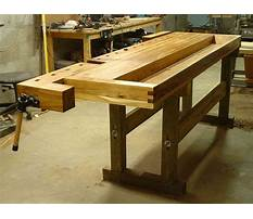 Cabinet makers workbench plans free Plan
