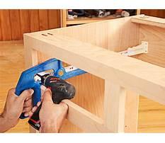 Cabinet making machinery Plan