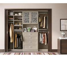 California closet systems ideas Plan