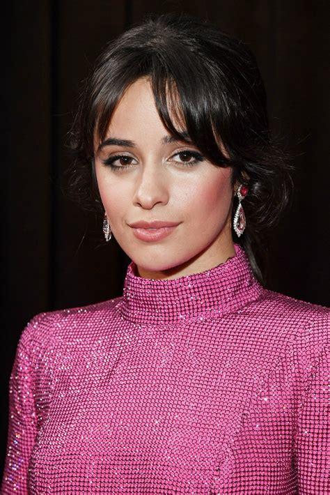 Camila Cabello Red Lips Long Hair