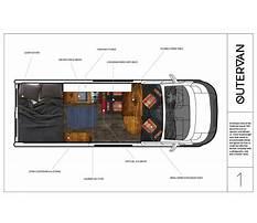 Campervan layout ideas Plan