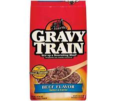 Can a dog eat dry gravy train Plan