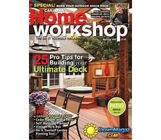 Canadian home workshop article index Plan