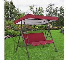 Canopy swing covers Plan