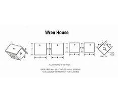 Carolina wren birdhouse plans Plan