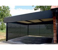 Carport alu Plan