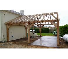 Carport framing plans Plan