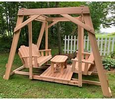 Cedar porch swing mississippi Plan