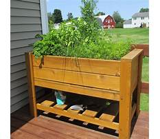Cedar raised bed planter boxes Plan