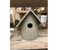 Ceramic bird house ideas Plan