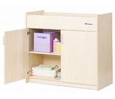 Changing table organization on a budget how to organize a changing station Plan