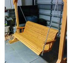 Cheap outdoor bench swings Plan