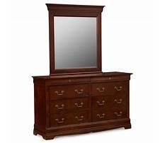 Cherry dresser mirror Plan