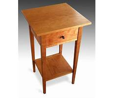 Cherry end table Plan