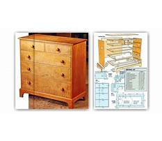 Chest drawers plans free Plan
