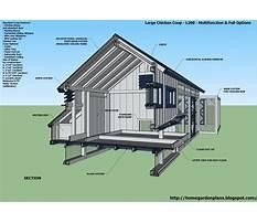 Chicken coop layouts.aspx Plan