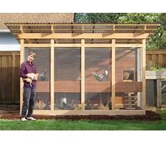 Chicken enclosure plans Plan