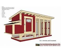 Chicken houses Plan