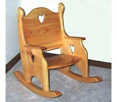 Children rocker chairs Plan