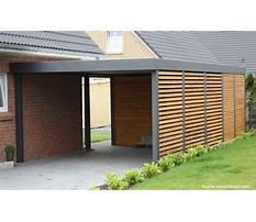 Closing in a carport design Plan
