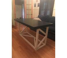 Coffee table desk combo Plan