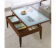 Coffee table modernform Plan