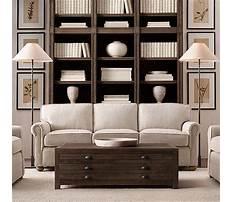 Coffee tables like restoration hardware Plan