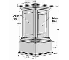 Columns wood aspx file Plan