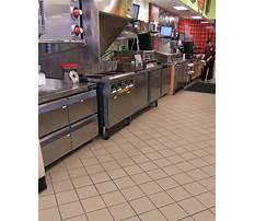 Commercial kitchen tile flooring Plan